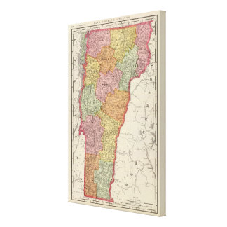 Vermont 5 impresiones de lienzo
