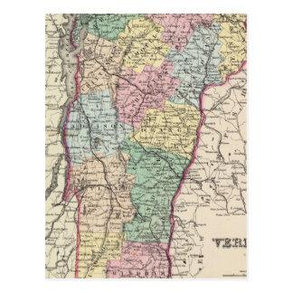 Vermont 6 postcard