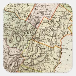 Vermont 6 square sticker