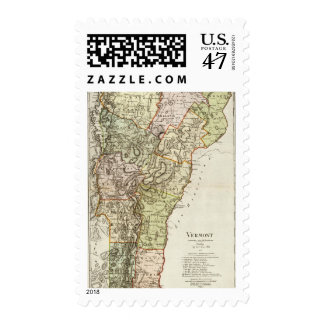 Vermont 6 timbres postales