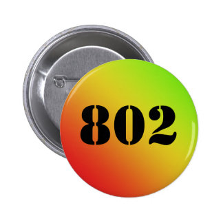 """Vermont """"802"""" botón pin redondo de 2 pulgadas"""
