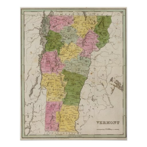 Vermont 8 poster