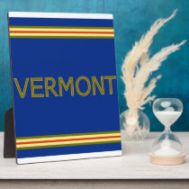 Vermont 8x10 Plaque with Easel