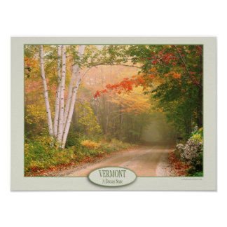 Vermont A Dream State Value Poster Paper (Matte)