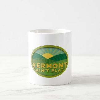 Vermont Ain't Flat Classic White Coffee Mug