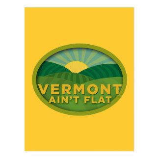 Vermont Ain't Flat Postcards