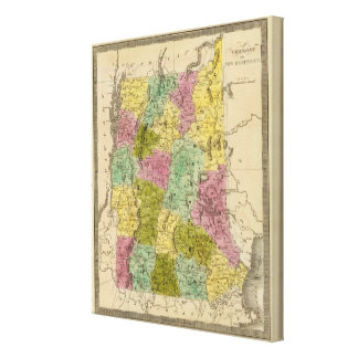 Vermont And New Hampshire Canvas Print