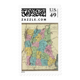 Vermont And New Hampshire Postage