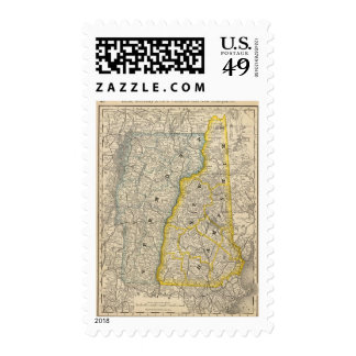 Vermont and New Hampshire Stamps