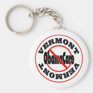 Vermont Anti ObamaCare – November's Coming! Keychain