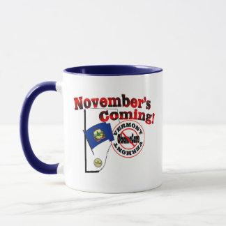 Vermont Anti ObamaCare – November's Coming! Mug