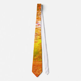 Vermont Autumn Nature Fine Art Neck Tie