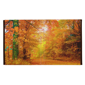 Vermont Autumn Nature Landscape iPad Cases