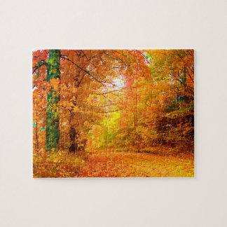 Vermont Autumn Nature Landscape Jigsaw Puzzle