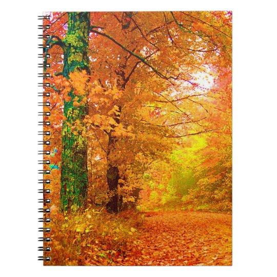 Vermont Autumn Nature Landscape Notebook