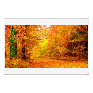 Vermont Autumn Nature Landscape Wall Decal