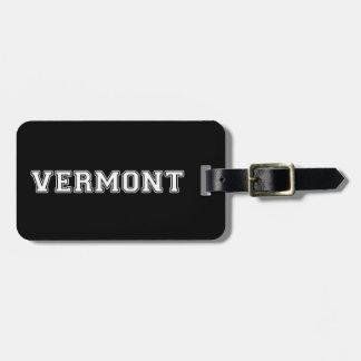 Vermont Bag Tag