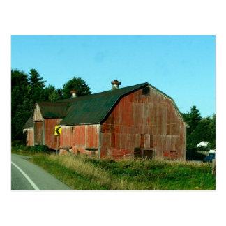 Vermont Barn - Postcard