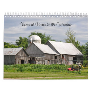 Vermont Barns - 2019 Calendar