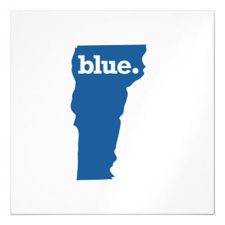 VERMONT BLUE STATE MAGNETIC CARD