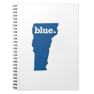 VERMONT BLUE STATE SPIRAL NOTEBOOK
