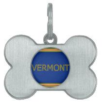 Vermont Bone Pet Tag