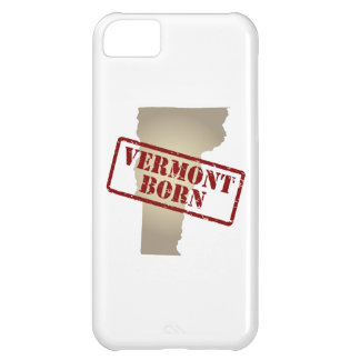 Vermont Born - Stamp on Map Cover For iPhone 5C