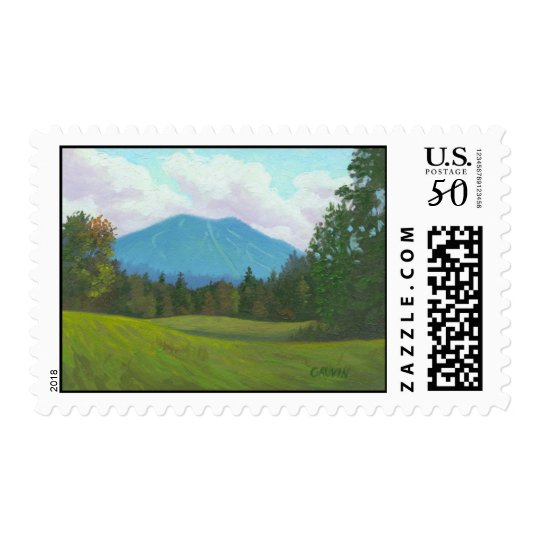 Vermont Burke Mountain Stamp