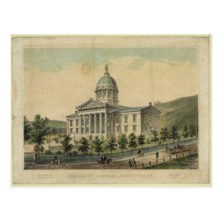 Vermont Capitol Building Montpelier Postcard