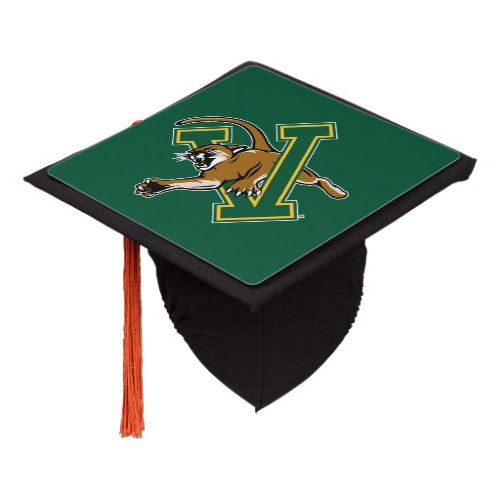 Vermont Catamounts Graduation Cap Topper