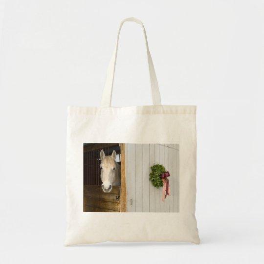 Vermont Christmas Canvas Bag