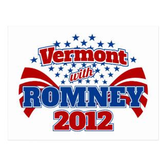 Vermont con Romney 2012 Postal
