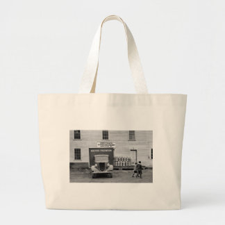 Vermont Dairy Co-op, 1930s Large Tote Bag