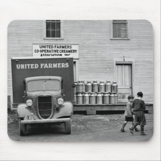 Vermont Dairy Co-op, 1930s Mouse Pad