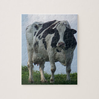 Vermont Dairy Cow Jigsaw Puzzle