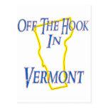 Vermont - del gancho tarjeta postal
