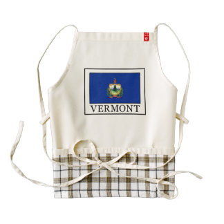 Vermont Delantal Zazzle HEART