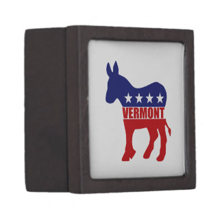 Vermont Democrat Donkey Premium Gift Box