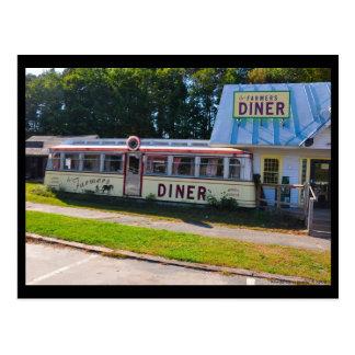 Vermont Diner - Postcard