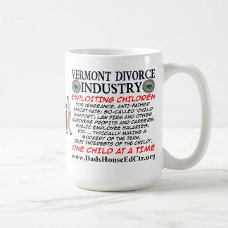 Vermont Divorce Industry Mug