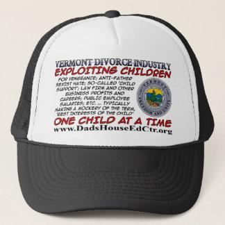 Vermont Divorce Industry.. Trucker Hat