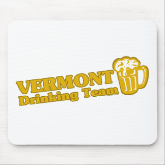 Vermont Drinking Team t shirts Mouse Pads