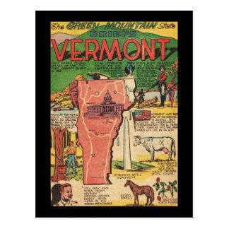 Vermont el estado verde de la montaña postales