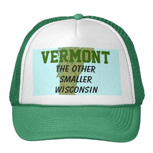 Vermont: El otro Wisconsin más pequeño Gorras