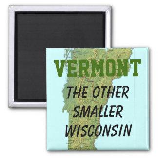 Vermont: El otro Wisconsin más pequeño Imán Cuadrado