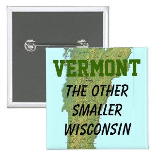 Vermont: El otro Wisconsin más pequeño Pin