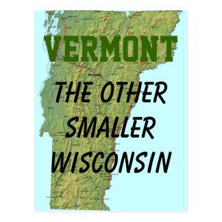 Vermont: El otro Wisconsin más pequeño Tarjeta Postal