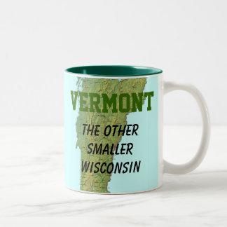 Vermont: El otro Wisconsin más pequeño Taza De Café