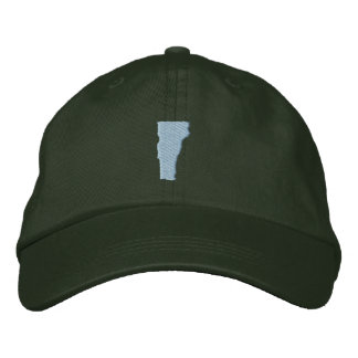 Vermont Embroidered Baseball Cap