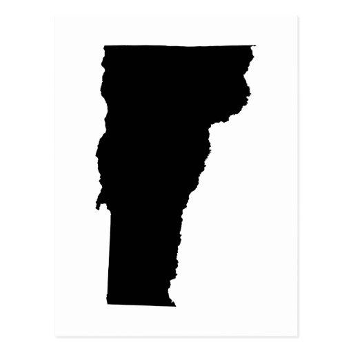 Vermont en blanco y negro postales